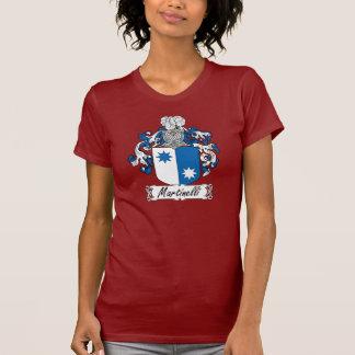 Escudo de la familia de Martinelli Camisetas