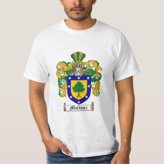 Escudo de la familia de Martínez - escudo de armas Remera
