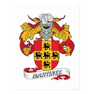 Escudo de la familia de Martínez Postal