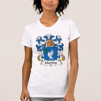 Escudo de la familia de Martins Camiseta