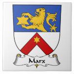 Escudo de la familia de Marx Azulejos Ceramicos