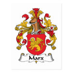 Escudo de la familia de Marx Postal