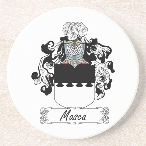Escudo de la familia de Masca Posavasos Manualidades