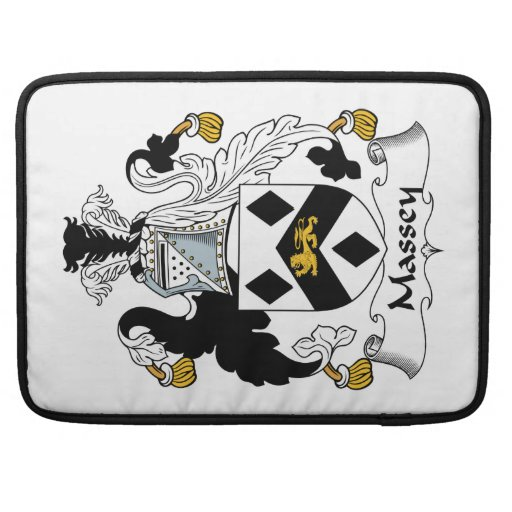 Escudo de la familia de Massey Funda Para Macbooks