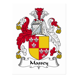 Escudo de la familia de Massey Postal