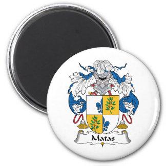 Escudo de la familia de Matas Iman De Nevera