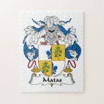 Escudo de la familia de Matas Rompecabezas Con Fotos