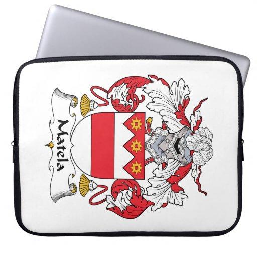 Escudo de la familia de Matela Mangas Computadora