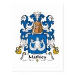 Escudo de la familia de Mateo Postal
