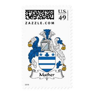 Escudo de la familia de Mather Sello