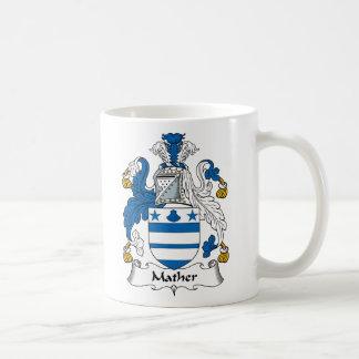 Escudo de la familia de Mather Taza