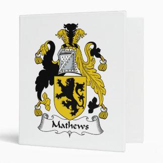 """Escudo de la familia de Mathews Carpeta 1"""""""
