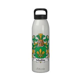 Escudo de la familia de Mathis Botellas De Beber