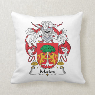 Escudo de la familia de Matos Almohadas