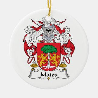 Escudo de la familia de Matos Adornos
