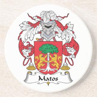Escudo de la familia de Matos Posavasos Cerveza