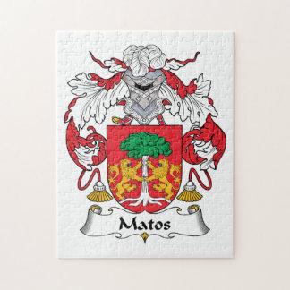 Escudo de la familia de Matos Puzzle Con Fotos