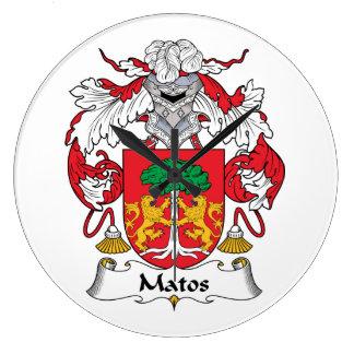 Escudo de la familia de Matos Relojes