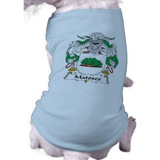 Escudo de la familia de Matoses Camisas De Mascota