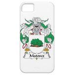 Escudo de la familia de Matoses iPhone 5 Cárcasa