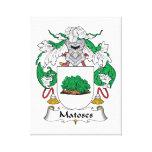 Escudo de la familia de Matoses Impresiones En Lona