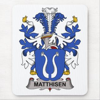 Escudo de la familia de Matthisen Tapete De Ratones