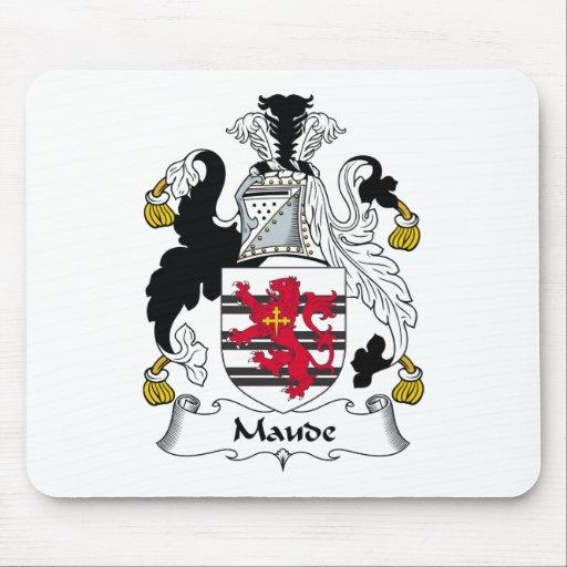 Escudo de la familia de Maude Alfombrillas De Raton