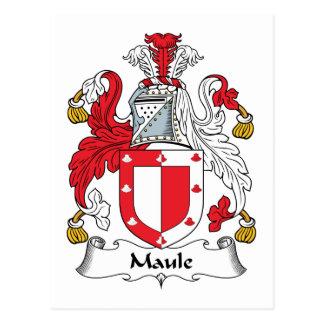 Escudo de la familia de Maule Postal
