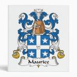 Escudo de la familia de Mauricio