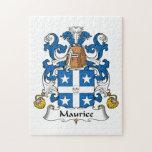 Escudo de la familia de Mauricio Puzzle