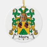 Escudo de la familia de Maury Ornamente De Reyes