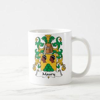 Escudo de la familia de Maury Taza Clásica