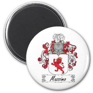 Escudo de la familia de Máximo Iman