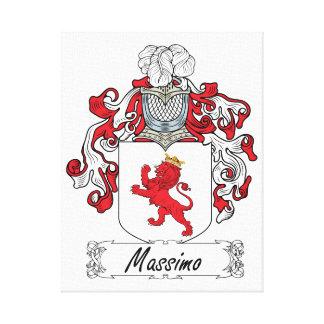 Escudo de la familia de Máximo Impresión En Lona Estirada