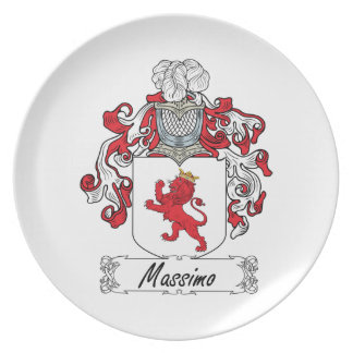 Escudo de la familia de Máximo Plato