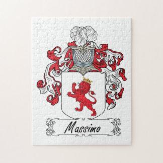 Escudo de la familia de Máximo Puzzle