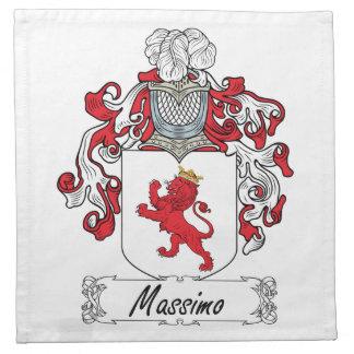 Escudo de la familia de Máximo Servilletas De Papel