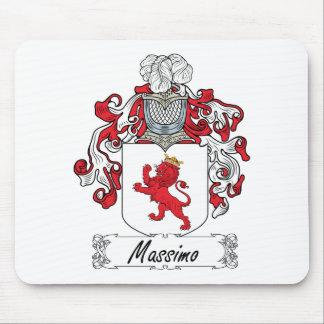 Escudo de la familia de Máximo Alfombrillas De Ratones