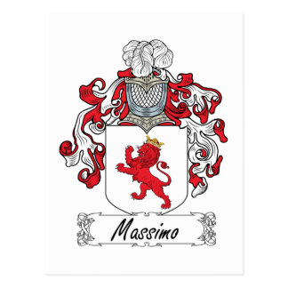 Escudo de la familia de Máximo Tarjetas Postales