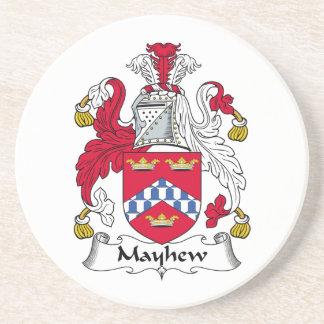 Escudo de la familia de Mayhew Posavasos Personalizados