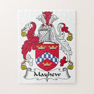 Escudo de la familia de Mayhew Puzzles Con Fotos