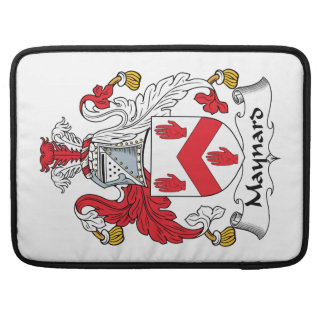 Escudo de la familia de Maynard Funda Para Macbook Pro