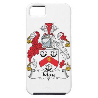 Escudo de la familia de mayo iPhone 5 Case-Mate cárcasas