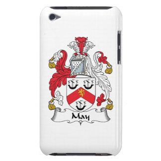 Escudo de la familia de mayo Case-Mate iPod touch fundas
