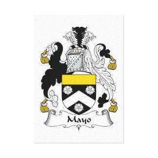 Escudo de la familia de Mayo Impresión En Lona