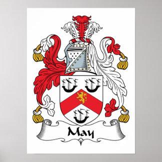 Escudo de la familia de mayo impresiones