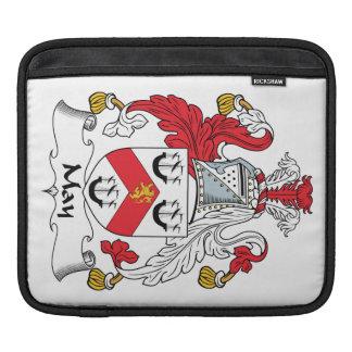 Escudo de la familia de mayo mangas de iPad