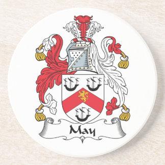 Escudo de la familia de mayo posavasos manualidades