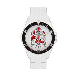 Escudo de la familia de mayo reloj