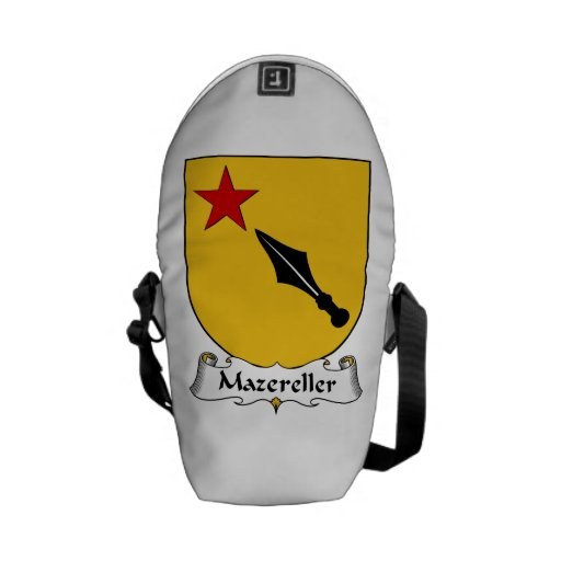 Escudo de la familia de Mazereller Bolsas Messenger